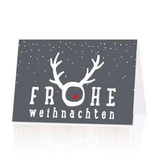 Coole Weihnachtskarten in Aachen bei Wimmer Druck oder  online bei Top-Kartenlieferant.de bestellen