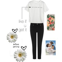 the notebook outfit by loverofeverything8infinite on Polyvore featuring polyvore fashion style Chicnova Fashion Oasis Rifle Paper Co