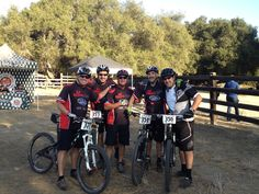 The boys at the Caspers Enduro race.