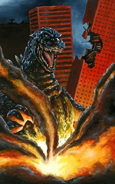 Godzilla Fan Art Poster