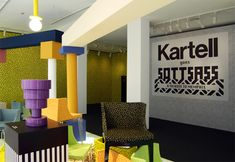 kartell goes sottsass with a tribute to memphis during milan design week