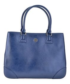 This Hudson Bay Robinson East-West Leather Tote is perfect! #zulilyfinds