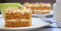 jednoduchy kolac Healthy Snacks, Healthy Recipes, Carrot Cake, Vanilla Cake, Banana Bread, Carrots, Deserts, Food And Drink, Sweets