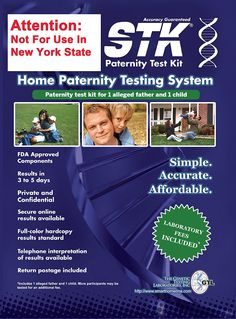 Diy home paternity test