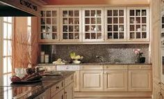 mueble de cocina blanco rustico envejecido - Buscar con Google