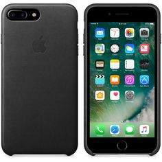 Funda Leather Case para el iPhone 7 Plus - Gris tormenta - Apple (ES)