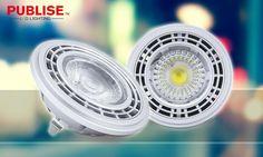 Publise LED spotlight - AR111 Patented unique design/UL, CE, RoHS compliant http://www.publiselighting.com/portfolio-view/pu-ar111axk1001/…