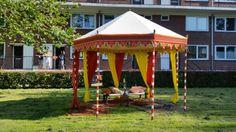 India wedding tent by hindi&bindi styling