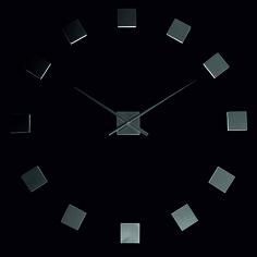 PLECH nástenné hodiny na stenu, Wall clock, Zagar, Spiegel, Hodiny samolepky na zeď a stenu