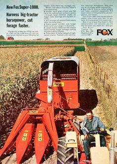 1968 Ad Fox River Tractor Appleton Wisconsin Agriculture Farming Farmer SF1