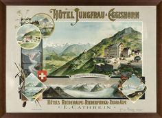 Hôtel Jungfrau à Eggishorn, Rieder-Alpe ~ Maurice Zimmermann