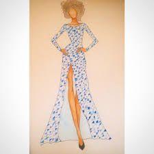 Resultado de imagen para vestidos de 15 dibujados a lapiz