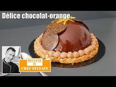 Entremets chocolat orange - Recette originale par Chef Sylvain ! - YouTube Tiramisu, Cake Decorating, Ethnic Recipes, Origami, Desserts, Caramel, Food, Tailgate Desserts, To Sell
