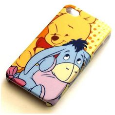 Disney Winnie the Pooh Eeyore iPhone 4 4S case FREE POST Mobile ❤ liked on Polyvore featuring accessories, tech accessories, phone cases, phones, iphone, cases and disney
