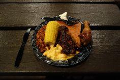 mickey's backyard bbq food