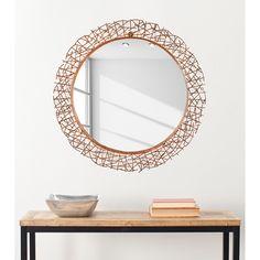 Spiegel Twig - Kupfer