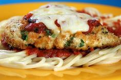 Oven-Baked Chicken Parmesan - Jenny Can Cook