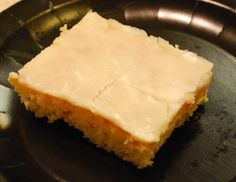 Almond Sheet Cake - This recipe is unreal.