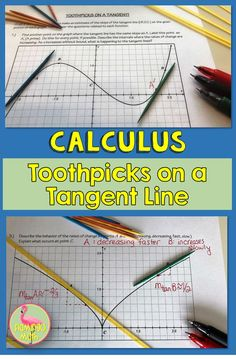 Toothpicks on a Tangent Line Calculus Freebie Line Lesson, Ap Calculus, Linear Function, Math Classroom, Classroom Ideas, College Board, School Subjects, Student, Blog