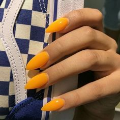 Trendy Yellow Nail Art Designs To Make You Stunning In Summer;Acrylic Or Gel Nails; French Or Coffin Nails; Matte Or Glitter Nails; Christmas Nails Glitter, Glitter Nail Art, Glitter Acrylics, Holiday Nails, Gorgeous Nails, Pretty Nails, Amazing Nails, How To Do Nails, Fun Nails