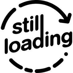 Still Loading Ladepfeil - Ein Ladepfeil bzw. Ladekreis beim Still Loading...