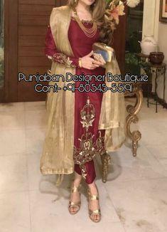 Wedding Trouser Suits, Ladies Trouser Suits, Punjabi Suit Neck Designs, Neck Designs For Suits, Chiffon Saree Party Wear, Party Wear Dresses, Punjabi Suits Designer Boutique, Indian Designer Suits, Embroidery Suits Punjabi