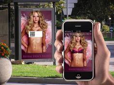 Victoria Secret QR code campaign