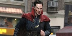 Photos of Benedict Cumberbatch on the set of 'Doctor Strange' show he's perfect for the role
