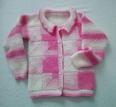 Detsky sveter pletený