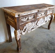 Home Furniture Traditional Painting Wooden Furniture Crafts Info: 8362534353 Western Furniture, Unique Furniture, Cheap Furniture, Furniture Projects, Rustic Furniture, Furniture Makeover, Vintage Furniture, Outdoor Furniture, Furniture Design