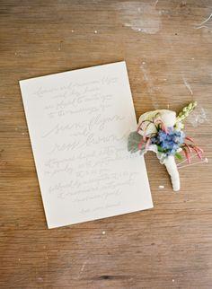 Simple, elegant invite