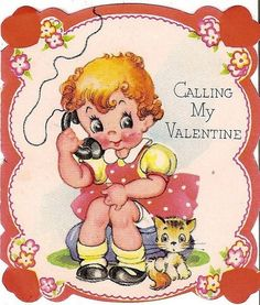 holidays- love  the old fashioned Valentines cards!
