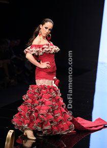 Margarita Freire - Noveles - Trajes de Flamenca - SIMOF 2012