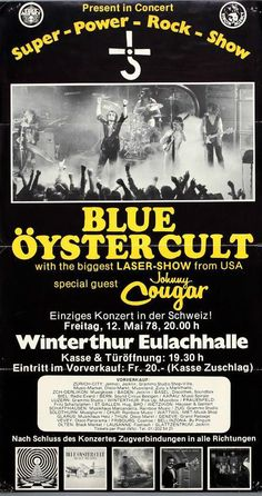 Blue Oyster Cult Con