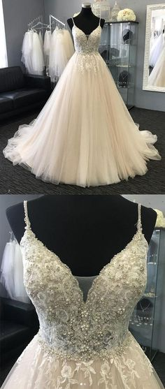 Light Charming Tulle Lace Long Prom Dresses, Evening dresses, Formal Charming Free Custom Pretty Prom dresses, PD0489 #charmingdressy