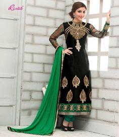 Online Shopping | Anarkali-Salwar-Suits-D1518