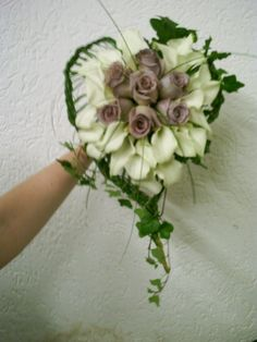 Heart bridal bouquet