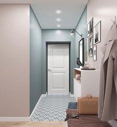Home Room Design, House Design, Decoration Hall, Hall Interior, Wall Paint Colors, Interior Decorating, Interior Design, Architectural Digest, Minimalist Decor