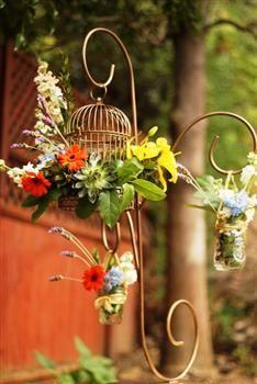 Love Birds Wedding Centerpiece