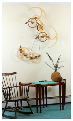 Kinetic Sculpture by David C. Roy - All Sculptures | Wood That Works | Kinetic Art - Frolic