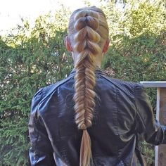 pull through fishtail braid by chimay