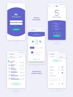 PillClok is a product/brand development for people who forget to take pills.A pillbox with 1 or 4 daily doses, a portable versionand an app for stock reminder/control. Web Design, App Ui Design, Mobile App Design, Yanko Design, Mobile Wallet App, Mobile App Ui, Medicine Packaging, App Design Inspiration, Branding