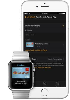 Set up and use Apple Pay with Apple Watch
