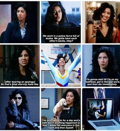 Best of Rosa Diaz (Stephanie Beatriz) Best Tv Shows, Best Shows Ever, Favorite Tv Shows, Movies Showing, Movies And Tv Shows, Geeks, Brooklyn Nine Nine Funny, Jake And Amy, Andy Samberg