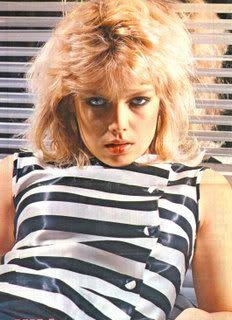 Kim Wilde es una cantante de pop británica. Alcanzó la fama en 1981 con su éxito «Kids in America», desde entonces versionada por diversos grupos y que aún sigue sonando en las radios con frecuencia.