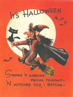 Throwback Thursday: Vintage Halloween Cards - American Greetings Blog