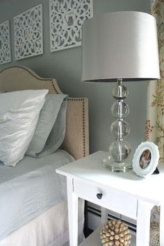 A guest bedroom makeover that includes a little DIY, a little new, and a little repurposed : Home with Baxter