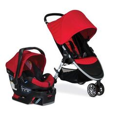 Britax TS 2017 B-Agile 3/B-Safe 35 Travel System - Red - S06020600