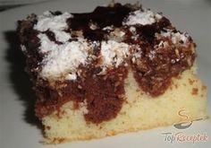Here are five beautiful and delicious brownie recipes that are sure to please everyone! Slovak Recipes, Czech Recipes, Hungarian Recipes, Sweet Recipes, Cake Recipes, Surprise Inside Cake, Hungarian Cake, Best Apple Crisp, I Am Baker