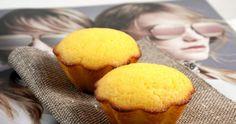 Muffins με γιαούρτι και καστανή ζάχαρη